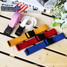 Metal Buckle Men Women Boys Jeans Belts Unisex Plain Webbing Waistband Casual Canvas Belt Candy Colors Top Quality 120cm(China)