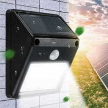 2835 SMD 12 LED LED Solar Powered Light Outdoor Lighting PIR Motion Sensor Solar Lamp Garden Decoration Waterproof Wall Lamp