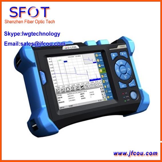 OTDR TR600 com 1310/1550nm 32/30dB Visual Função de Localização de Faltas OTDR Fibra Óptica equipamentos de Teste de comunicação De Fibra