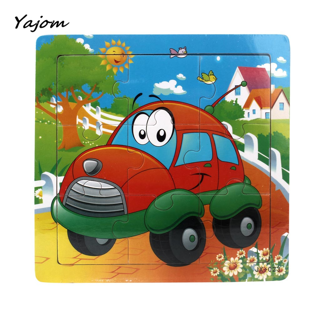 Puzzle toys Wooden Kids Jigsaw Toys For Children Education And Learning Puzzles Toys Brand New High Quality May 24