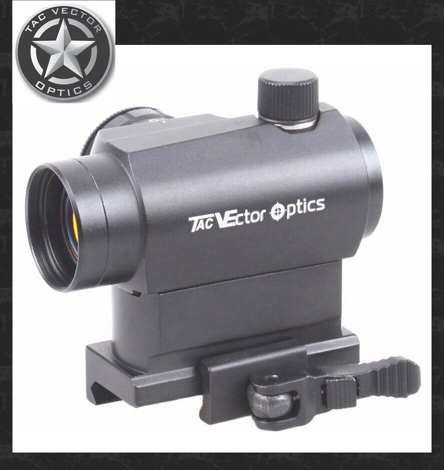 Вектор Оптика Компактный мини 1×22 QD стояк Reflex Red Dot пистолет прицел, пригодный 12GA AK 5.56 Ar. 223 Пикатинни Бесплатная доставка