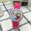 New Frozen Princess Elsa Anna Cartoon Watch Children Girls Quartz   Analog relogio feminino Wristwatches Toys Gifts