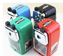 Free shipping 100% Japan Original A 5 pencil sharpener metal material shell hand pencil sharpener pencil sharpener color option
