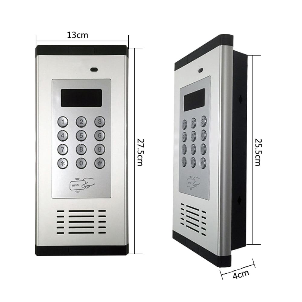 GSM 액세스 제어 게이트 도어 오픈 경보 시스템 LCD - 보안 및 보호 - 사진 5
