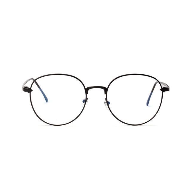 Online Shop Korean Cheap Eyeglass Frames Vintage Round Clear Glasses ...