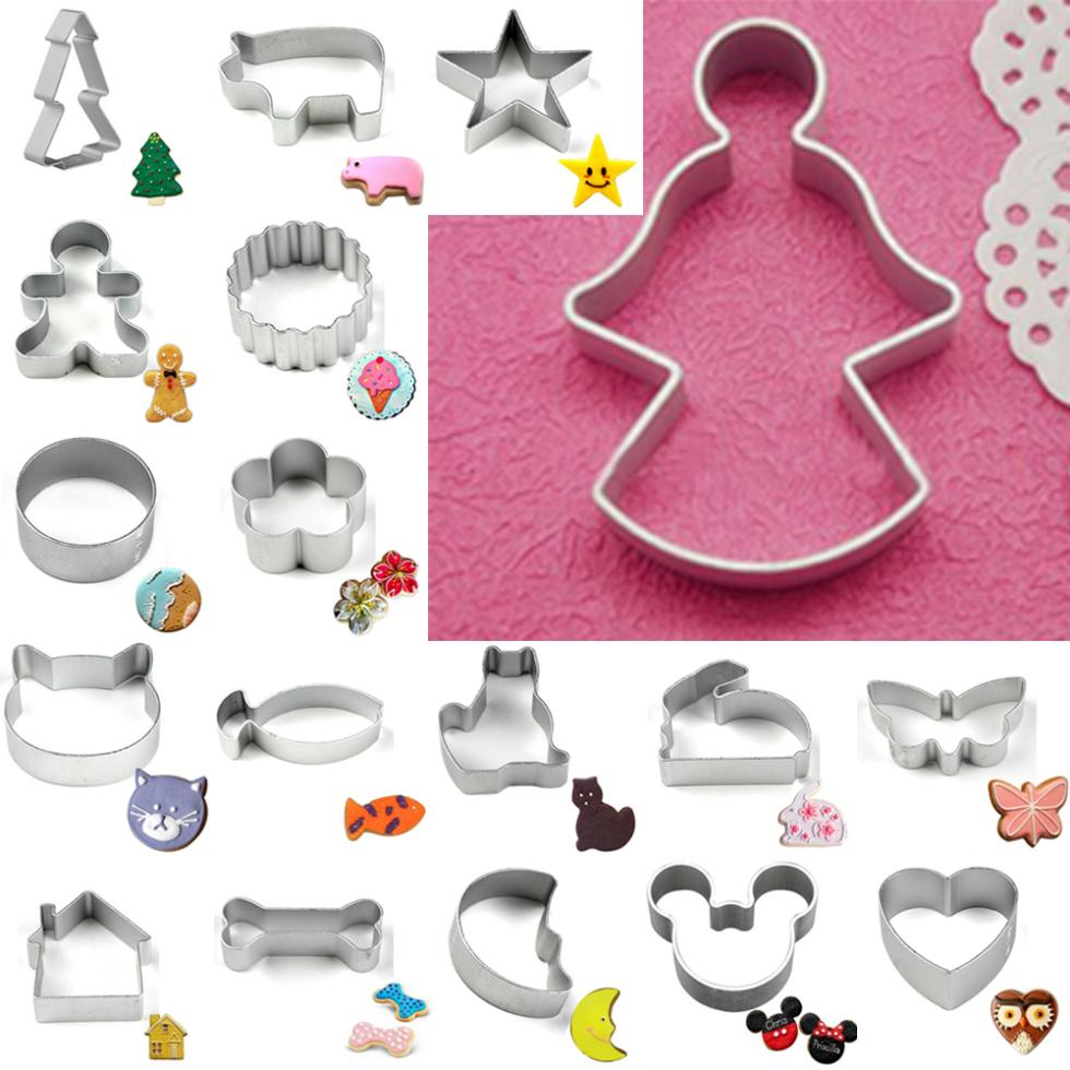 Hot 2018 Big Sale Specialized Metal Sitting Cat Shaped Holiday Baking Biscuit Cookie Cutter Mould Bakeware Tools Cookie Cutter