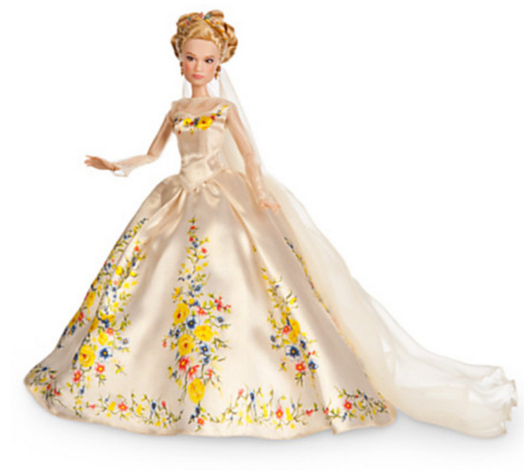Newest Cinderella Kids Dress 2015 Cartoon Movie Cinderella