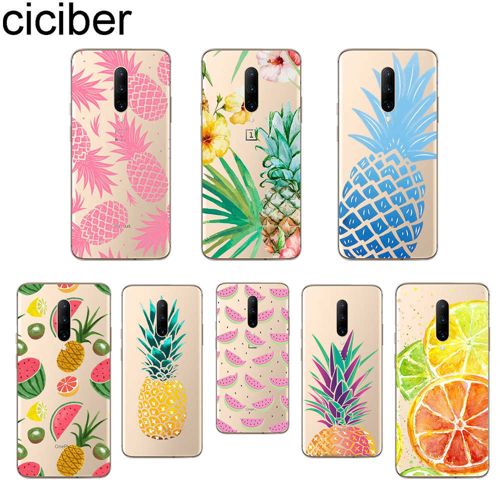 ciciber Fruit Pineapple Phone Case For font b Oneplus b font font b 7 b font