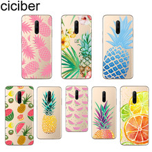 ciciber Fruit Pineapple Phone Case For Oneplus 7 Pro 1+7 Pro Soft TPU Cover for Xiaomi 9 Coque For Redmi Note 7 6 Pro Funda Capa