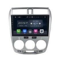 1024*600 Octa Core 10.1″ Android 6.0 Car DVD GPS for Honda City 2006-2013 With 2GB RAM Radio Bluetooth 32GB ROM USB Mirror-link