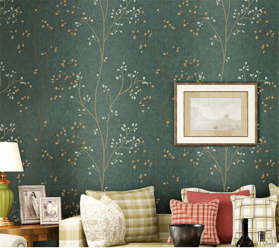beibehang rural 3d wallpaper fashion elegant tree