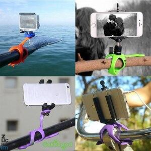 Image 4 - Le plus récent Mini trépied Flexible pour téléphone Portable Smartphone téléphones Stand Hoders voyage en plein air Portable belle Gecko Spider