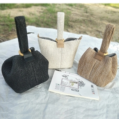 Straw Handmade Bag