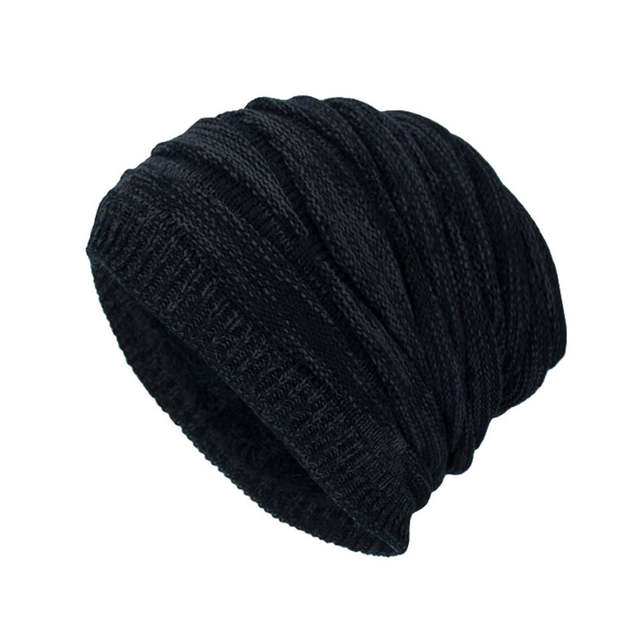 placeholder Caps cap men solid beanie Fashion cap men basketball wear Winter  Hats Warm Knitted Snow Ski d1f7da120d89