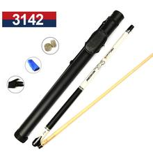 PREOAIDR 3142 P6 Pool Cue with Case Billiard Stick Kit 13mm/11.5mm Tips Black/White Color Set 2019 Billiards