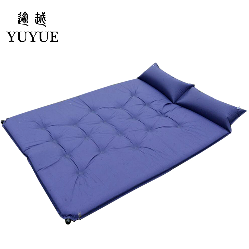 5cm Thick Double Resident Mattress For 2 Person Outdoor Camping Tent Air Bedding For The Air Mat For Beach Colchoneta Camping 0