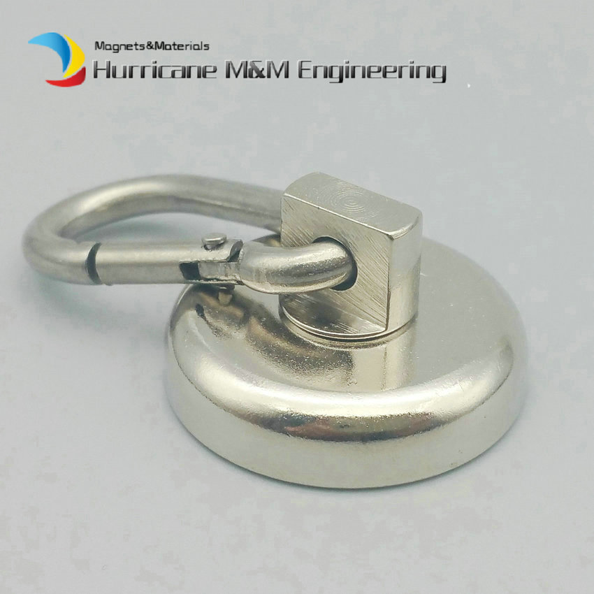 2-60 pcs Buckle Magnet Dia 36mm Magnetic Pots with 360 deg. Rotable Buckle Strong Lifting Magnet Neodymium Permanent Magnets trouble magnet 2