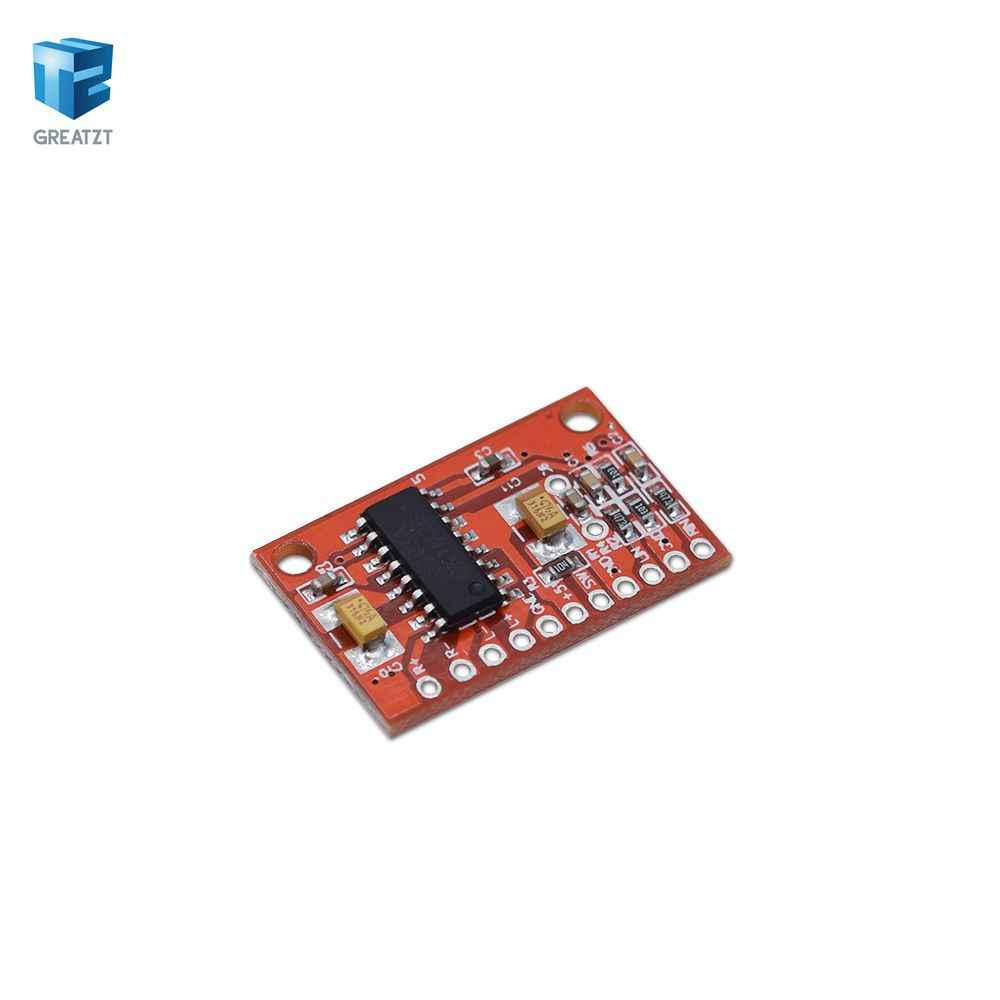 1 UNIDS 3 W * 2 Mini Digital Power Tablero Del Amplificador Audio DIY Estéreo USB DC 5 V fuente de Alimentación PAM8403 para Arduino