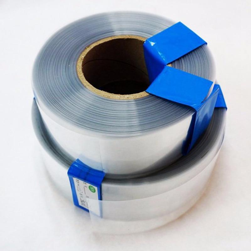 1m Transparent Lipo Battery Casing PVC Heatshrinkable Tube Model Accessories Battery Case