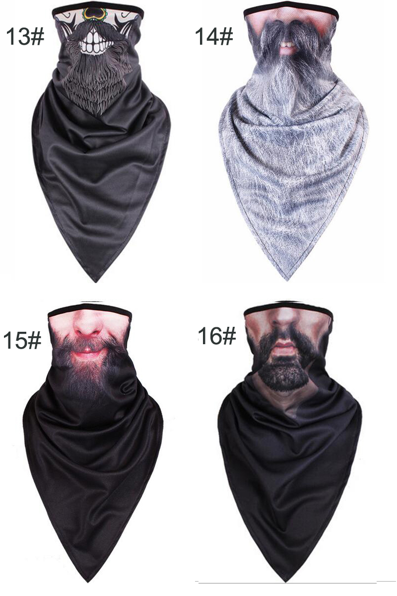 Tcare Lengthen Breathable Outdoor Windproof Dust Face Mask Bike Motorcycle Neck Warmer Masks for Women Men