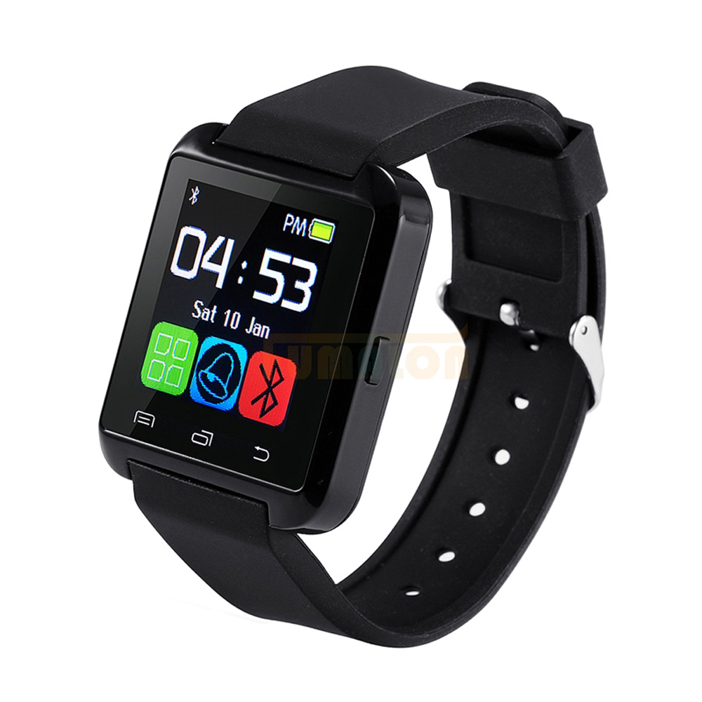 Smart watch heren Bluetooth en Hartslagmeter Smart watch installatie - Herenhorloges
