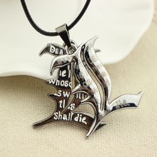 Death Note Double L Yagami Non-Mainstream Necklace L Lawliet Kira Charm Pendant Cosplay Unisex Accessories