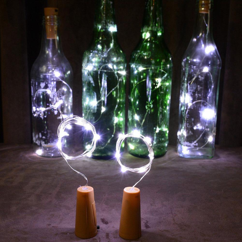 Зонд Блестящий 1.5 м Строка Светодиодный Ночник LR44 Батарея питание Портативный светодиодные полосы лампы на Рождество для отдыха и вечерино...