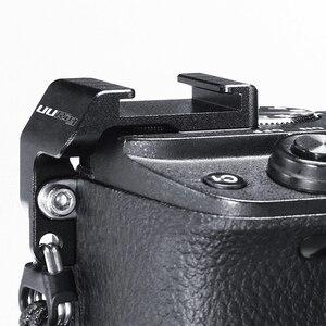 Image 4 - UURig R011 Mikrofon Kalten Schuh Montieren Rig Mic Adapter Vlog Kamera Externe Halterung Halter Für SONY A6400 DSLR Kamera Zubehör