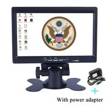 Мини-компьютер и TV Дисплей видеонаблюдения 7 «ЖК-дисплей Экран заднего вида монитор с HDMI/VGA /аудио/видео DC 12 В