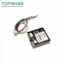 3.3-5VTTL UAR GPS modülü GN-801 GPS GLONASS çift modlu M8n GNSS modülü anten alıcısı, dahili flaş, NMEA0183 FW3.01 TOPGNSS