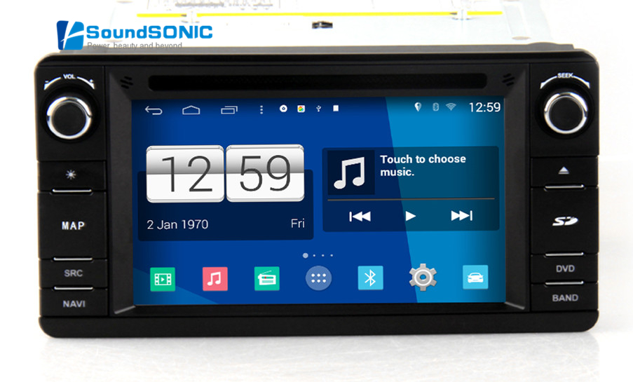Android 4.4.4 For Mitsubishi Outlander 2012 2013 2014 2015 Car Stereo Radio DVD GPS Navigation Sat Navi Media System