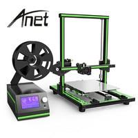 Original Anet E10 3D Printer kit Aluminum Frame Multi language 3D Printer DIY Set LCD Screen 3D Desktop Printing Machine