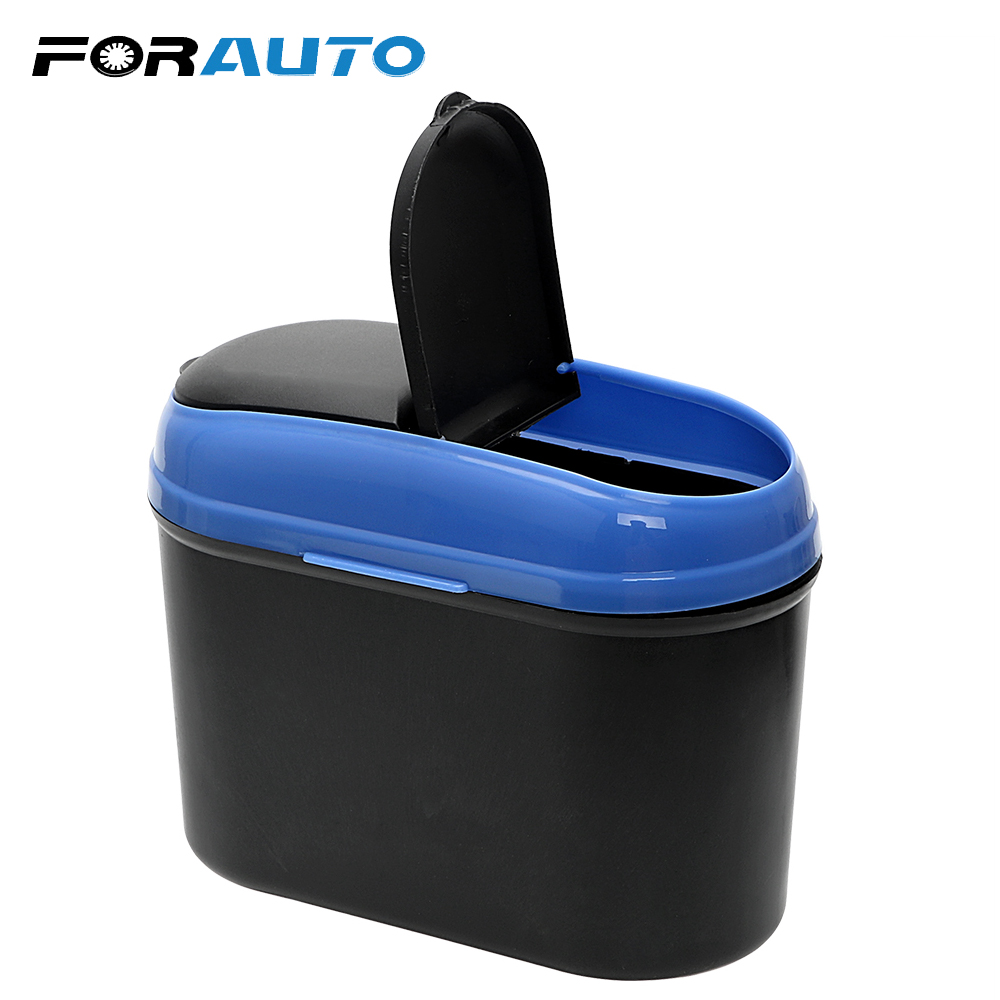 FORAUTO Car DustBin Auto Trash Bin PP Ru