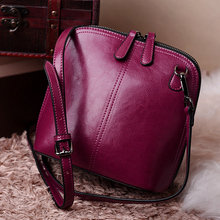 Luxury Brand Bag Women Messenger bag Genuine Leather Shell Shoulder  Famous Designer Crossbody