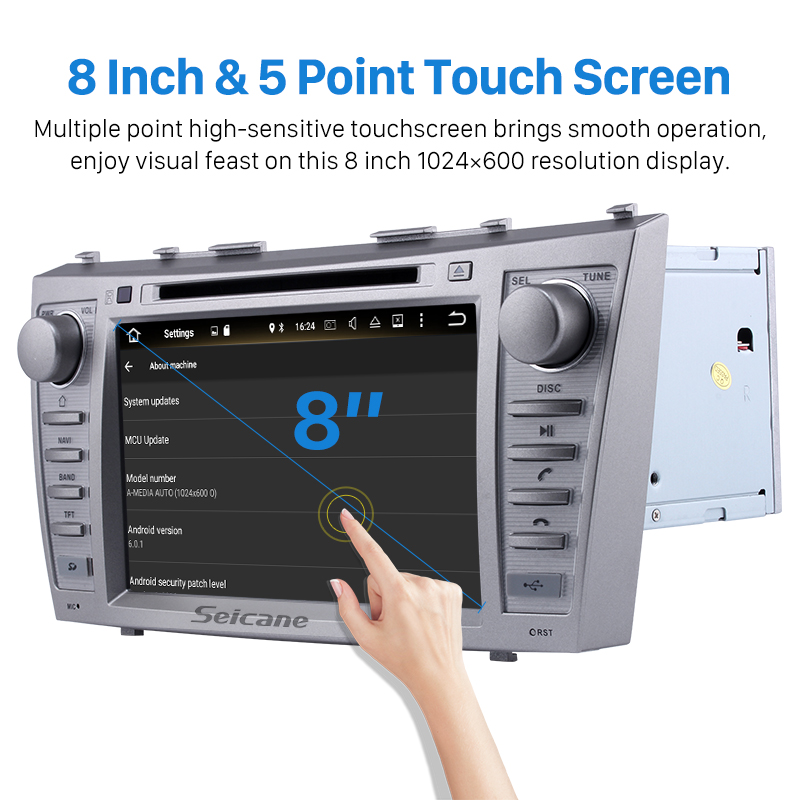 Seicane 8 Core 8 Inch Android 6 0 Car Radio For 2007 2011