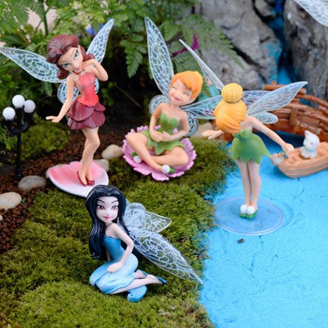 Flower Fairy Micro Landscape Gardening Fairy Mini Dollhouse Family Ornament