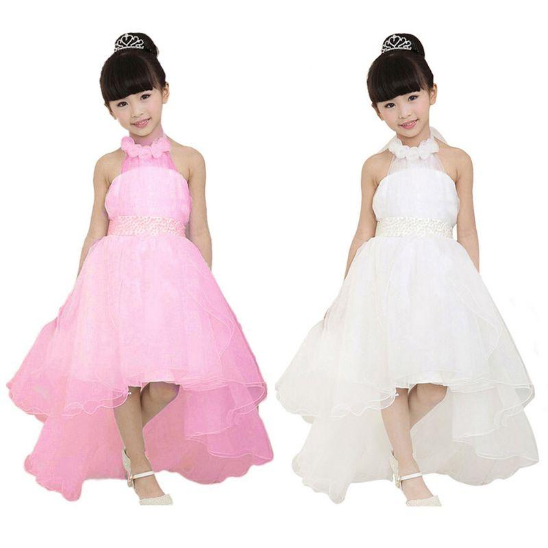 Excelente Vestidos De Las Niñas De Flores Dama Ornamento - Ideas de ...