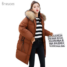 Brieuces new Winter Jacket Womens New Fashion Brand Warm Thick Outwear Coat Women Jackets Parka Female Cotton Coats