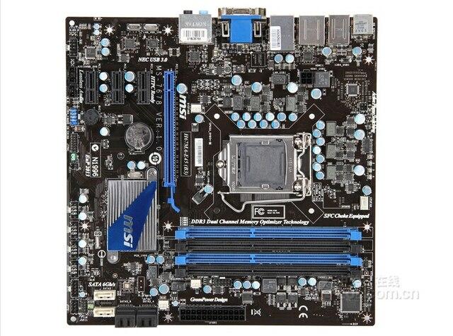 Motherboard original para MSI H67MA-E45 (B3) LGA 1155 DDR3 de 32 GB para H67MA-E45 H67 i3 i5 i7 Área de Trabalho motherborad Frete grátis
