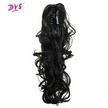 Deyngs Ponytail Расширения 24 дюйм(ов) 160 г Синтетический Локон Коготь В Хвост Наращивание Волос Для Женщин Естественно Ложные Парики