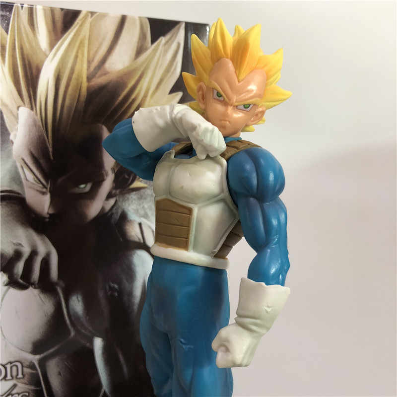 Dragon Ball Z Vegeta Despertar Warrior Fusão Super Saiyan Trunks Pai DBZ Goku PVC Figura Coleção Modelo 18cm