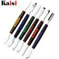 Kaisi 6pcs/set Dual Ends Metal Spudger of Prying Opening Repair Tool Kit Fit for iPhone / iPad / Mobile Phone