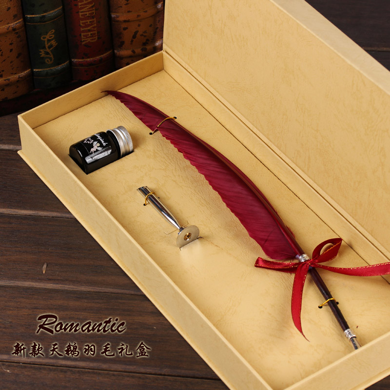 Harry Potter European Vintage quill ink dip colors Swan ...Harry Potter Quill And Ink Set