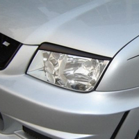 For 2001 2005 Volkswagen VW Jetta 4 Bora Mk4 IV Carbon Fiber Headlight Eyebrows Eyelids
