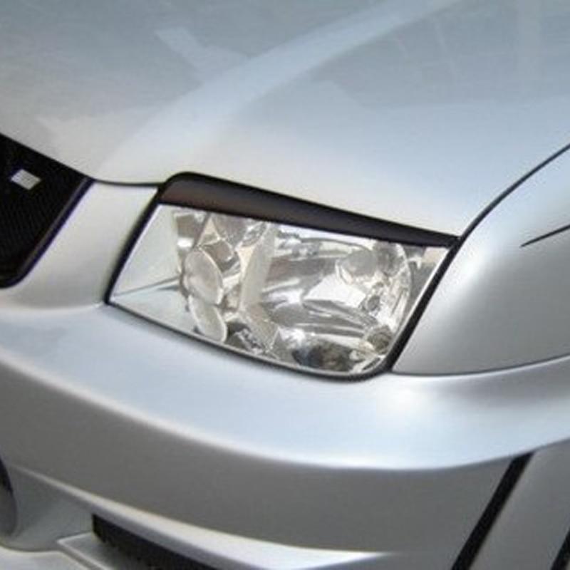 Pour 2001-2005 Volkswagen VW Jetta 4 Bora Mk4 IV fibre de carbone phare sourcils paupières