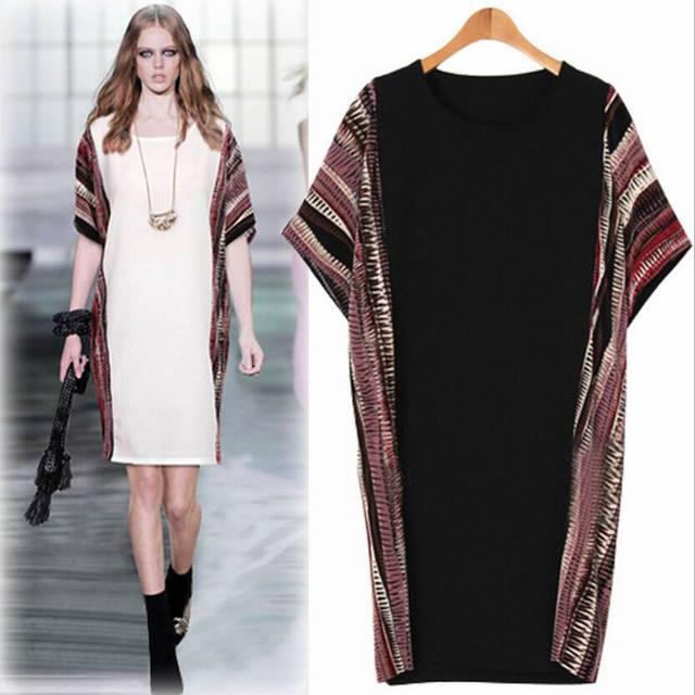 Aliexpress.com : Buy Summer Dress Women Cotton Linen Loose Plus ...