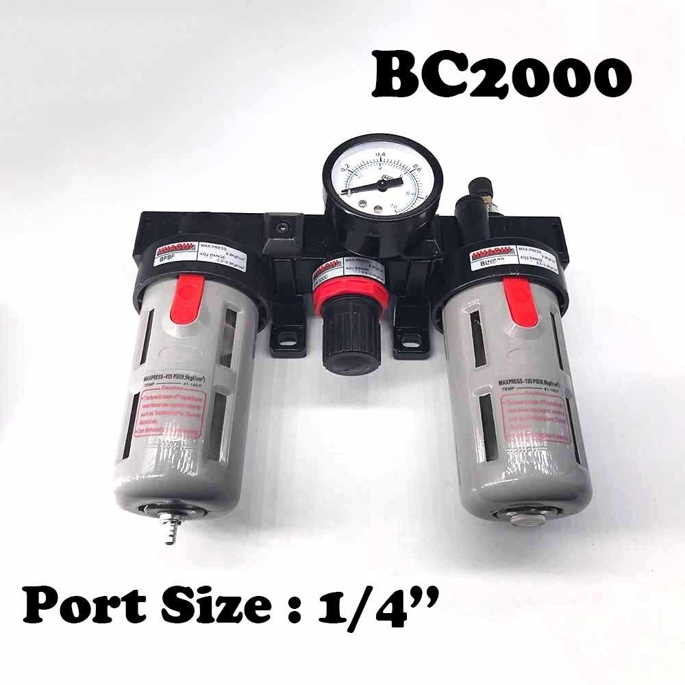 BC2000 filtre libre trois cylindres 1/4 tasse deau taille filtre combinaison air.BC2000 filtre libre trois cylindres 1/4 tasse deau taille filtre combinaison air.
