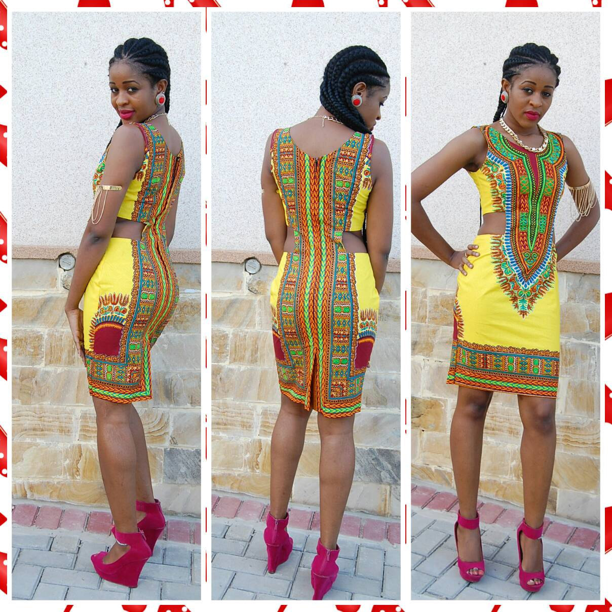 Sex Club African Fashion Design African Traditional Print -6139