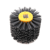 BORUiT 1 Pcs 120 100 19mm P80 P120 P240 Abrasives Wire Wheel Brush For Wooden Furniture