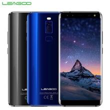 Оригинальный leagoo S8 сотовый телефон 5.72 дюйма 3 ГБ Оперативная память 32 ГБ Встроенная память MTK6750T Octa core android 7.0 четырьмя камерами отпечатков пальцев Смартфон